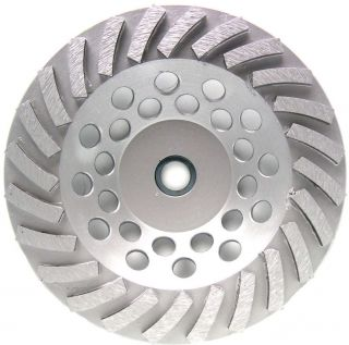 Concrete Grinding Cup Wheel 24SEG Angle Grinder 2pk