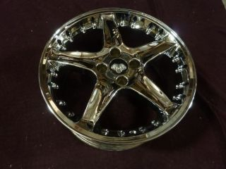 Mustang 1987 1993 Chrome Cobra R Motorsport Style Wheel Rim