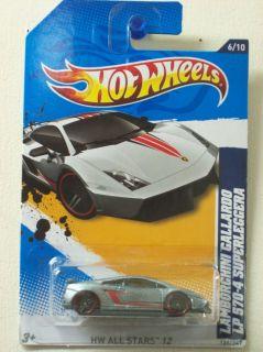 HOT WHEELS 2012 #126 LAMBORGHINI GALLARDO LP 570 4 SUPERLEGGERA