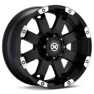 17 inch ATX Wheels Rims 17x8 Black 5x5 5x127 Jeep Wrangler JK