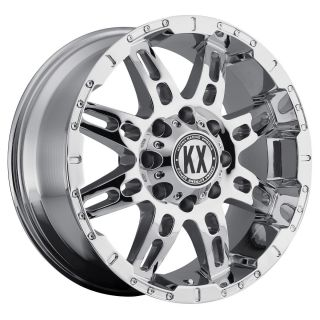 Off Road CP34 18x9 5x135 10 Chrome Finish Ford F150 New Wheels