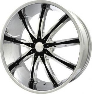 26 inch ELR20 Chrome Wheels Rims 6x135 Ford Expedition