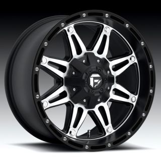 18 Wheels Rims Fuel Hostage Black Ford F150 XL7 2 4WD