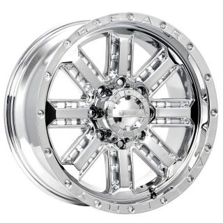 22 inch Gear Alloy Nitro Chrome Wheel Rim 6x135 F150 Expedition