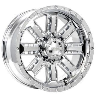 22 inch Gear Alloy Nitro Chrome Wheel Rim 6x135 F150 Expedition