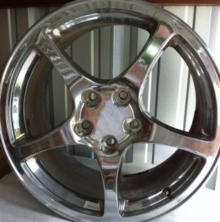 2000 Corvette Wheels Chrome 18x9 5 Y2K Camaro Trans Am Firebird
