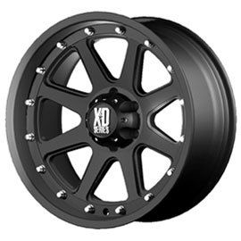 17 XD Addict Black Wheels 5x127 Jeep Wrangler JK 33 Toyo AT2 Tires