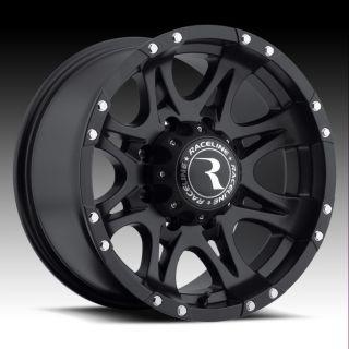 18 Raceline Raptor Rims Wheels Black 18x9 6x5 5 6x139 7 6