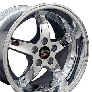 17 Rim Fits Mustang® Cobra Wheel Chrome 17x10 5