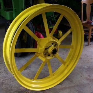 John Deere Antique Model B Flat Spoke Rear Wheels