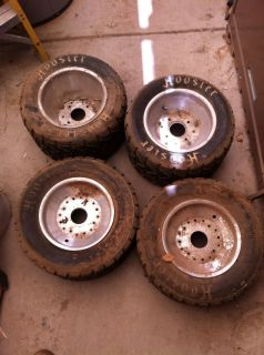 Go Kart and or Golf Cart Tires and Aluminum Wheels
