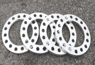 Pcs 1 2 Thick 8x6 5 8x170 Wheel Spacers Billet Aluminum Heavy Duty