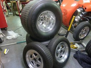 Mickey Thompson Pro Street Tires and Craiger Wheels