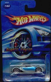 Veyron Super Rare 2006 Hot Wheels Silver Spokes 144 Unopened Free Ship