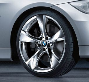 BMW 1 Series Chrome 5 Spoke 18 Wheels Rims 128i 135i