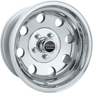 17x8 Polished Wheels Rims Baja 8x170