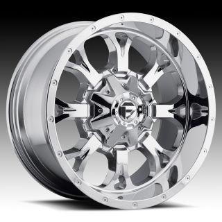 20 inch 20x12 Fuel Krank Chrome Wheel Rim 8x170 Lifted F250 F350