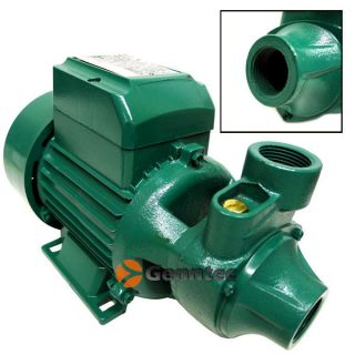 Industrial 1HP Electric Water Pump Centrifugal 1 in Out Cast Iron