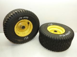 John Deere 175 Tractor Carlisle 15x6 00 6 Front Tires Rims