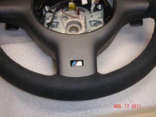 BMW E46 M3 SMG Alcantara Suede M Sport Steering Wheel