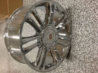 Escalade Platinum Factory Replica Chrome Wheels Rims 6x5 5 22x9