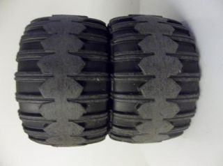 Power Wheels 6V Lil F150 Replacement Wheels Tires Pair
