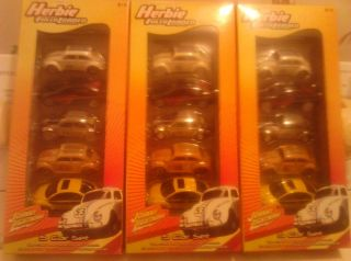 JOHNNY LIGHTNING WHITE LIGHTNING HERBIE FULLY LOADED 5 CAR SET 3 FIVE