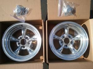 Racing Torq Thrust ll Polished Wheels Part 5155865 Mopar Ford
