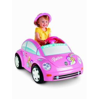 Power Wheels VW Barbie Pink Volkswagen Beetle Electric Ride on P6830