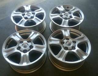 11 TOYOTA TUNDRA SEQUOIA FACTORY STOCK OEM 18 WHEELS RIMS CAPS 5X150