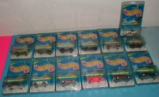 1996 Hot Wheels Treasure Hunt Complete Set w Extra