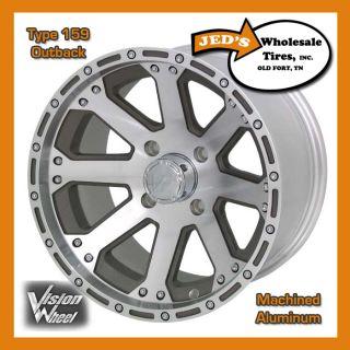 Aluminum Wheel Rim 4 Polaris Sportsman 335 400 450 500