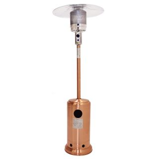 New Outdoor Garden Propane Copper Finish Patio Heater w All