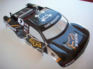 CUSTOM PAINTED BODY TEAM ASSOCIATED SC10 2WD SC10 4X4 SHORT COURSE R C