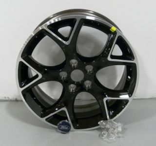 Factory Stock 2012 12 Focus Black 17 Aluminum Rim Wheel Kit