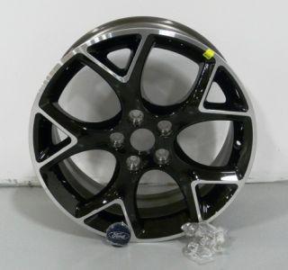 Factory Stock 2012 12 Focus Black 17 Aluminum Rim Wheel Kit