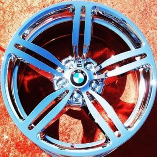 New 19 BMW M6 650i Style 167 OEM Chrome Wheels Rims EXCHANGE 59544