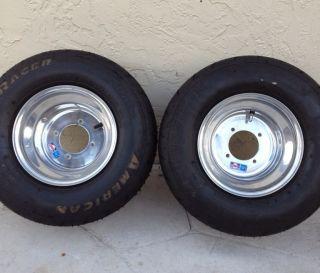 Banshee Drag Rims and Tires American Racers