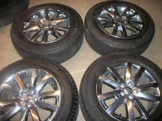 2011 18 Chrome Clad Ford Edge Wheels Tires