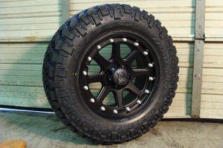 17 XD Addict Black 37x12 50 17 Nitto Trail Tires 37