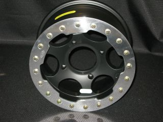 Lock Wheel Black Rim Polaris Sportsman Ranger Magnum 4 156 14