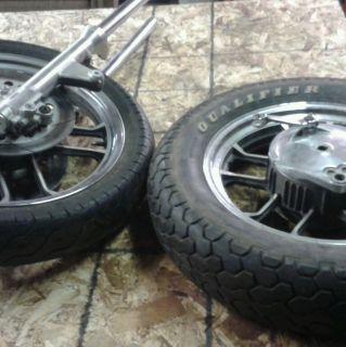 45 Honda Magna Tires
