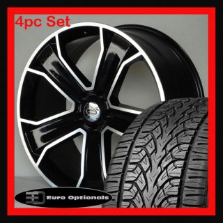 22 Wheels and Tires Package Fits Range Rover Sport LR3 HSE Manchester
