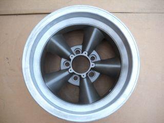 Torq Thrust Style Aluminum Wheel 15x9 Mag Rim Mustang Cuda