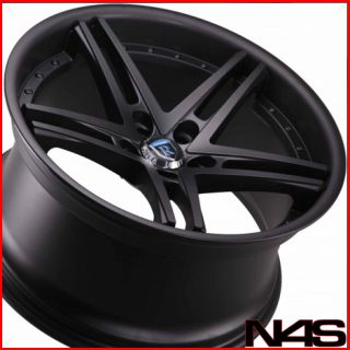W204 C300 C350 Rohana RC5 Black Concave Staggered Wheels Rims