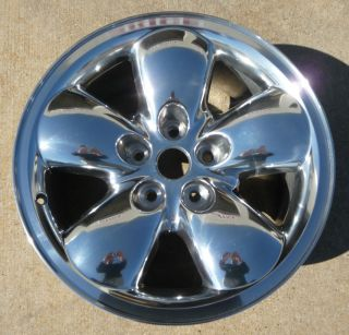 2002 2005 Dodge RAM 1500 20 Polished Alloy Wheel 2167