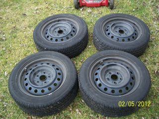 BFGoodrich G Force Super Sport A S H V 205 55R16 On 2008 Scion XB Rims
