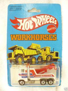 G2 Hot Wheels Workhorses Rig Wrecker 3916 1983