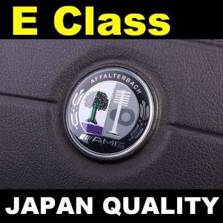 AMG Color Steering Wheel Emblem Horn Badge Mercedes Benz E Class W212