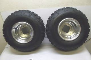 Yamaha Raptor 660 YFM660 YFM ATV Rear Tires Wheels